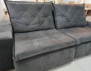 Sofá Retrátil e Reclinável 2,30m
