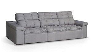 Sofá  retrátil e reclinável 2,64m