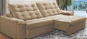 Sofá  retrátil e reclinável 2,50m