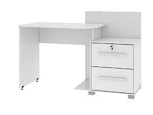 escrivaninha com duas gavetas