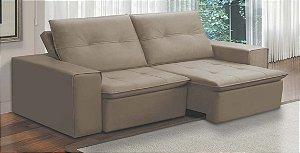 Sofá  retrátil e reclinável 2,00M