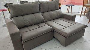 Sofá Retrátil e Reclinável 2,35m