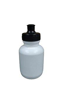 Squeeze Branco 350ml - Com Tampa Colorida