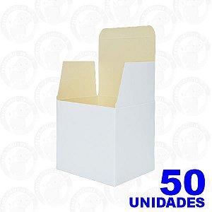 Caixa De Papelão Branca Para Caneca  PCT C/ 50 Und - Sublimatica