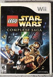 Jogo Nintendo Wii Lego Star Wars The Completed Saga - Lucas Arts