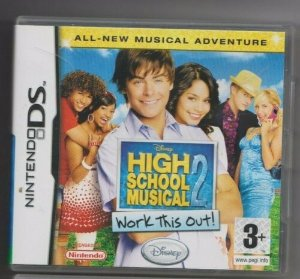 Usado Jogo Nintendo DS High School Music 2 Work this Out! - Disney