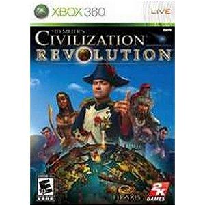 Usado Jogo Xbox 360 Sid Meier's Civilization Revolution - 2K Sports