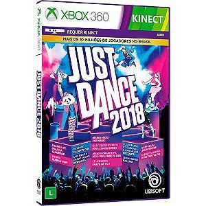 Usado Jogo Xbox 360 Just Dance 2018 - Ubisoft