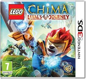Jogo Nintendo 3DS Lego Chima: Lavals Journey - Warner Bros Games
