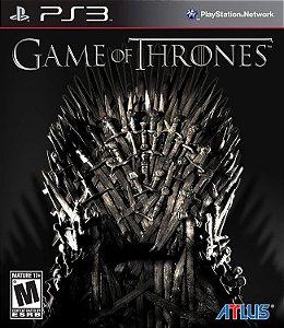 Usado Jogo PS3 Game Of Thrones - Atlus