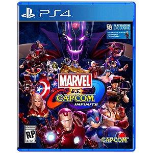 Usado Jogo PS4 Marvel vs Capcom Infinite - Capcom
