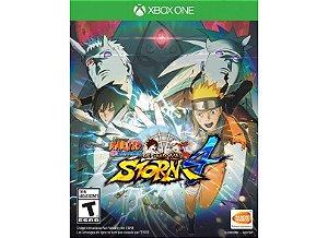 Usado Jogo Xbox One Naruto Shippuden: Ultimate Ninja Storm 4 - Bandai Namco