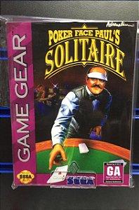 Usado Jogo Game Gear Poker Face Paul's Solitaire - Sega
