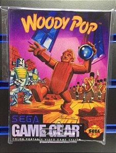 Jogo Game Gear Woody Pop - Sega