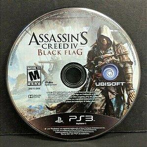 Usado Jogo PS3 Assassins Creed 4 Black Flag (Loose) - Ubisoft