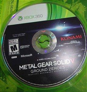 Jogo Xbox 360 Metal Gear Solid V Ground Zeroes (loose) - Konami