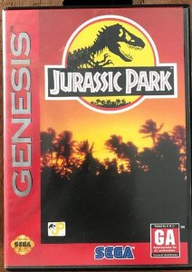 Jogo Mega Drive Genesis Jurassic Park - Na Caixa - Sega