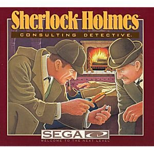 Jogo Sega CD Sherlock Holmes Consulting Detective + Sega Classics - Sega
