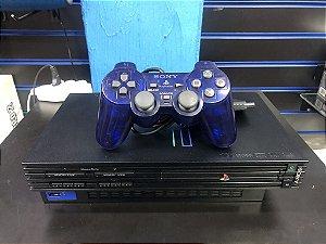 Console PlayStation 2 Edição Midnight Black (desbloqueado) Japones - Sony