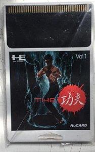 Jogo PC Engine The Kung Fu HuCard Japonês - Hudson Soft
