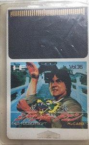 Jogo PC Engine Jackie Chan HuCard Japonês - Hudson Soft