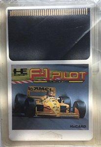 Jogo PC Engine F-1 Pilot HuCard Japonês - He System