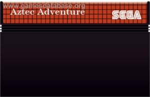 Jogo Master System Aztec Adventure - Sega