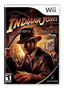 Jogo Nintendo Wii Indiana Jones And Staff of Kings - Lucas Art