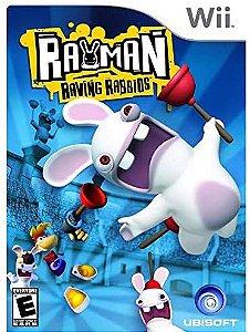 Jogo Nintendo Wii Rayman Raving Rabbids - Ubisoft