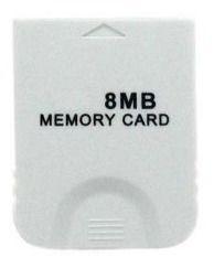 Memory Card Wii de 8mb - Importado