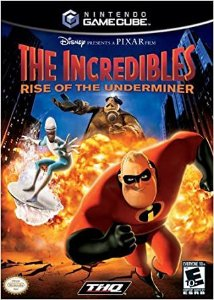 Jogo Game Cube The Incredibles Rise of the Underminer - THQ