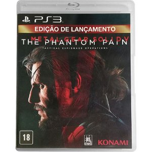 Jogo PS3 Metal Gear Solid V: The Phantom Pain - Konami