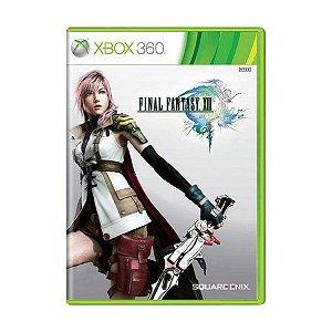 Jogo Xbox 360 Final Fantasy XIII 13 - Square Enix
