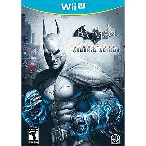 Jogo Nintendo Wii U Batman Arkham City Armored Edition - Warner Bros Games
