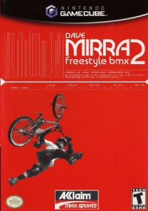 Jogo Nintendo Game Cube Dave Mirra Freestyle BMX 2 - Aklaim