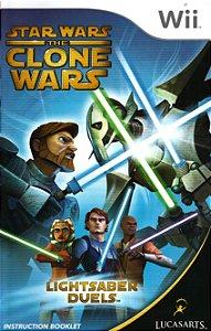 Jogo Nintendo Wii Star Wars The Clone Wars Lightsaber Duels - Lucas Arts