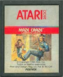 Jogo Atari 2600 Maze Craze - Atari