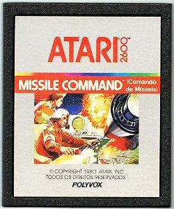 Jogo Atari 2600 Missile Command - Polyvox