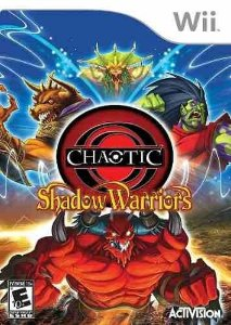 Jogo Wii Chaotic Shadow Warriors - Activision