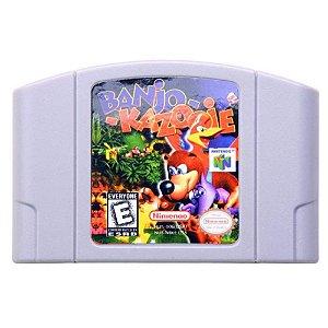 Jogo Nintendo 64 Banjo-Kazooie - Nintendo