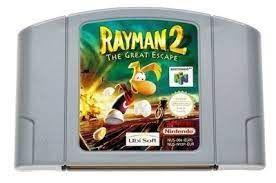 Jogo Nintendo 64 Rayman 2 The Great Escape - Ubisoft