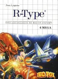 Jogo Master System R-Type Na Caixa - Tec Toy