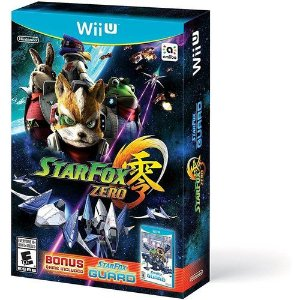 Jogo Nintendo Wii U Star Fox Zero + Star Fox Guard - Nintendo