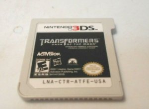 Jogo Nintendo 3DS Transformers: Dark of the Moon Stealth force edition (loose) - Activision