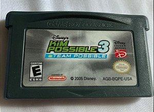 Jogo Game Boy Advance Kim Possible 3 - Disney