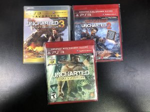 Kit Uncharted 3 jogos Unchated PS3 - Sony