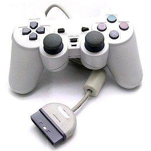 Controle Playstation 1 DualShock Branco - Sony