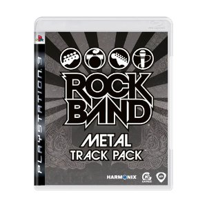 Jogo PS3 Rock Band Metal Track Pack - HARMONIX