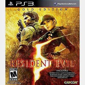 Jogo PS3 Resident Evil 5 Gold Edition - Capcom