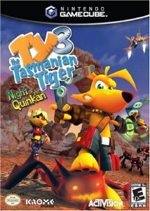 Jogo Nintendo Game Cube Ty The Tasmanian Tiger 3: Night At The Quinkan - Activision